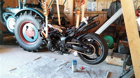 Motorrad Lackieren Rosenheim by Meine Gsr750 Stealth Fighter Gasgriff Umbau Seite