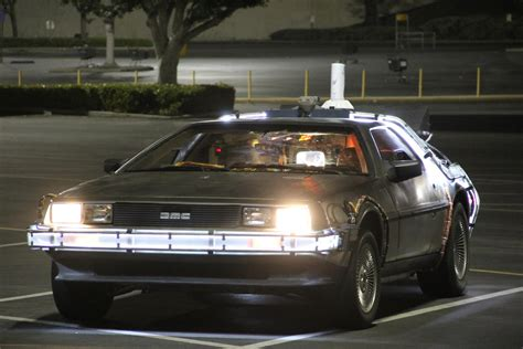 back to the delorean future car images