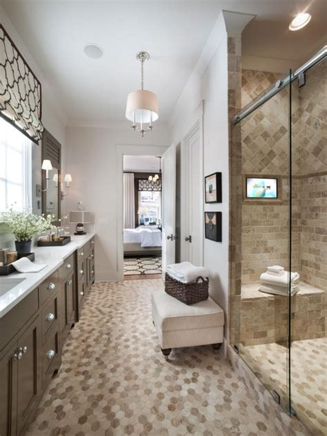 Spa Like Master Bathrooms by Spa Like Master Bathroom With High Tech Features Hgtv