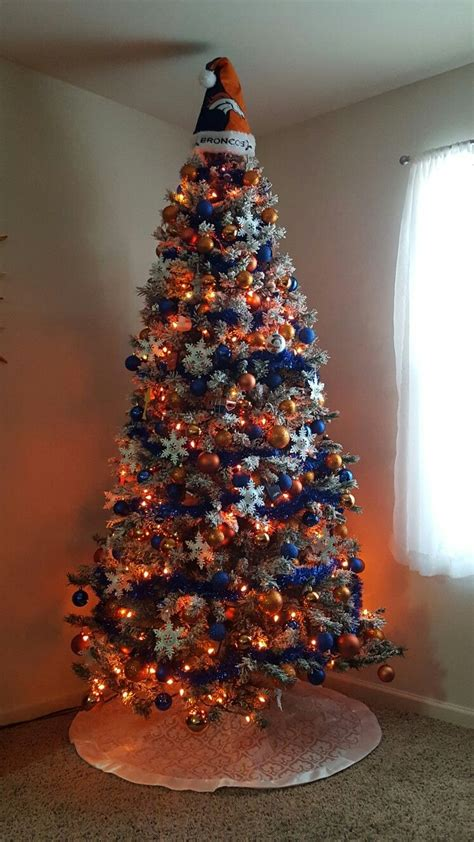 denver broncos christmas tree official denver broncos
