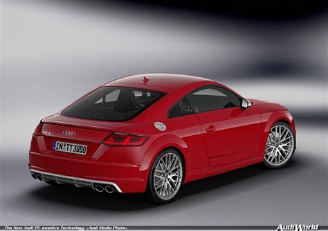 New Audi Tt by The New Audi Tt Emotive Technology Audiworld