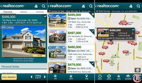 realtor app android 5 most popular real estate android apps to find your house techacker