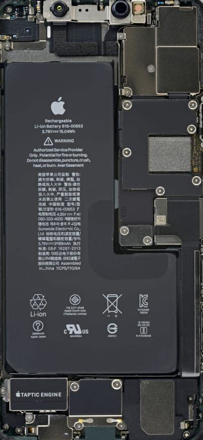 iphone  pro max internals wallpaper wallpapers central