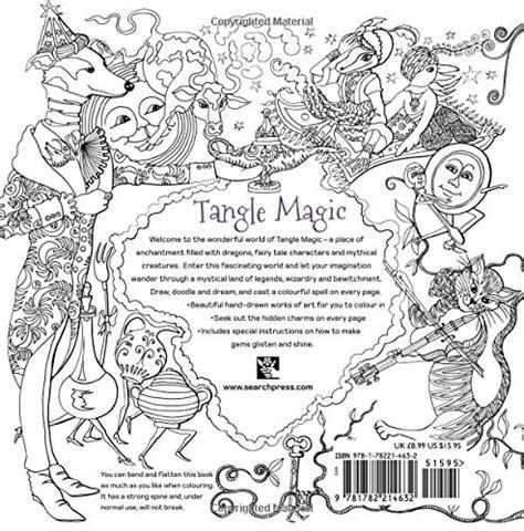 tangle magic a spellbinding tangle magic coloring book miss adewa cc4f4d473424