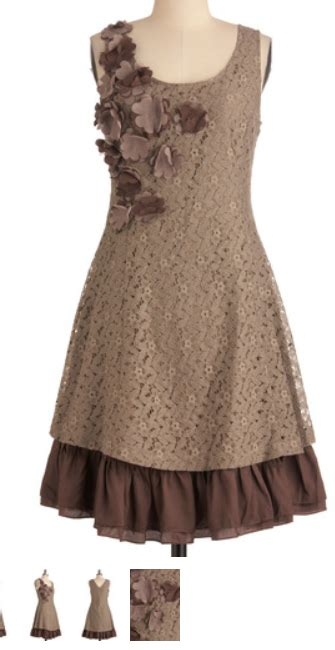 loretti 5144 lace dress with fabric flowers sewingforfun