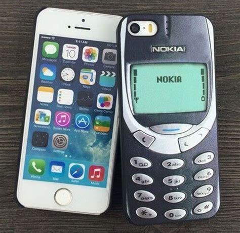 coque r 233 tro nokia 3310 pour iphone 6 et iphone 6s