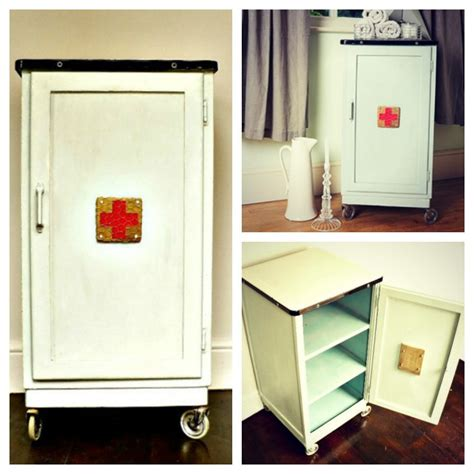 vintage bathroom storage cabinets vintage metal bathroom cabinet mad about the house