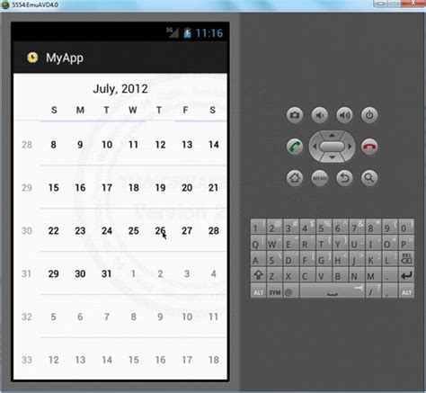android tutorial java2s search results for android calendarview tutorial