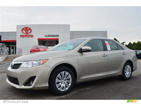 2014 creme brulee metallic toyota camry le 85907440 gtcarlot car color galleries