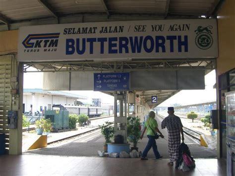 Ktm Ipoh To Penang Stesen Keretapi Tanah Melayu Butterworth Butterworth Penang