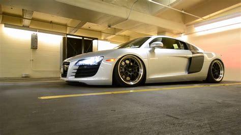 Audi R8 Youtube by Bagged Audi R8 Youtube