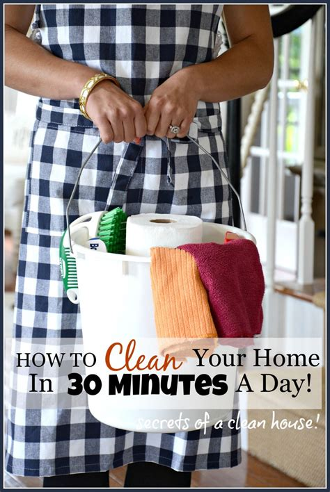 clean your home how to clean your home in 30 minutes a day stonegable