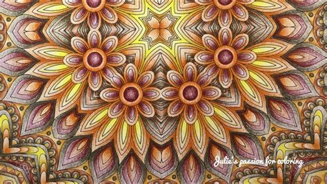 mandala collection volume 1 color like crazy kaleidoscope mandala designs volume 1 prismacolor pencils youtube