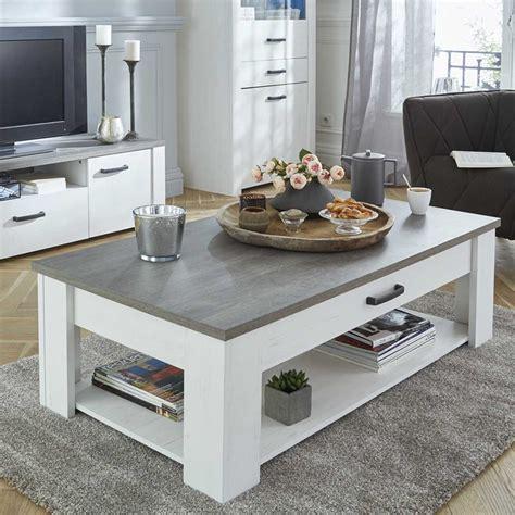 Table basse 120cm x 64cm Marquis   Dya Shopping.fr
