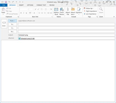 blank email template projects from fasttrack schedule 10 project