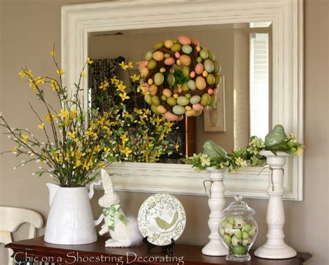 easter decorating table ideas photograph the coffee table