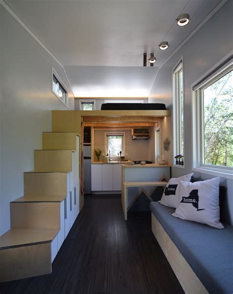 Interior Small Home Design Shedsistence Tiny House D I Y Modern Minimalist Interior Design Tiny House Of The Year
