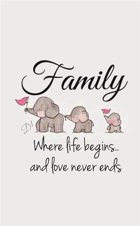 tattoo family love quotes family where life begins and love never ends family