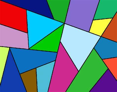 imagenes abstractas geometricas faciles dibujo de dibujo abstracto pintado por valeriitta en