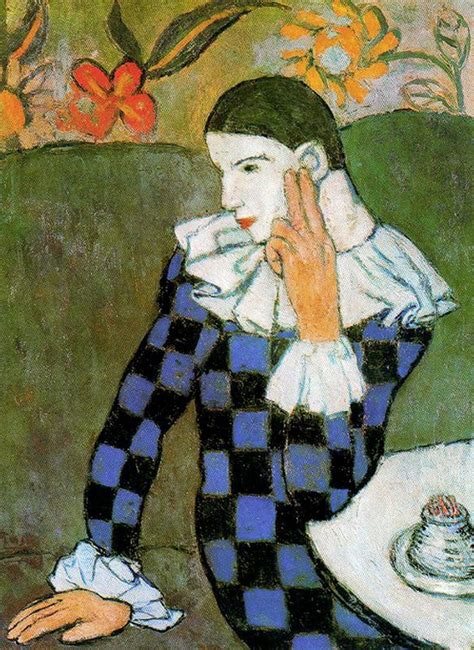 picasso paintings in usa pablo picasso 1881 1973 seated harlequin 1901