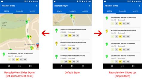 slide up layout in android android collapsing expanding view coordinated with