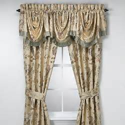 Discontinued Croscill Curtains Croscill 174 Window Curtain Panel Pair And Valance Bed Bath