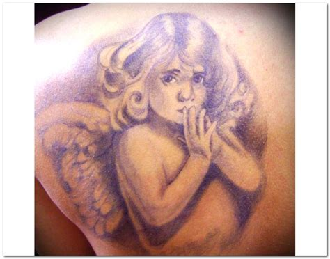silence angel tattoo