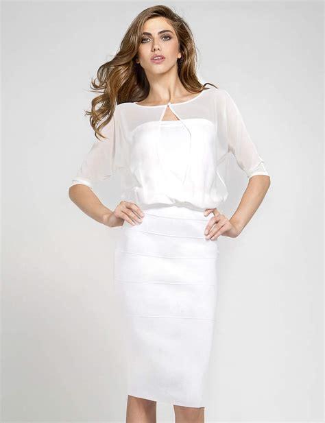 Robe Blanche Courte Femme - great robe robe blanche courte 2015
