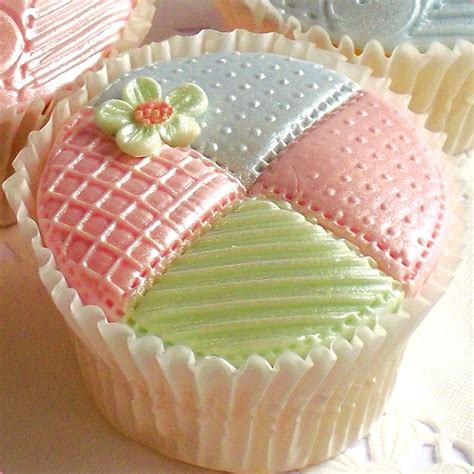 Patchwork Coverlet - patchwork quilt cake decorating silicone mould by katy