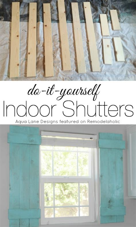 how to make interior shutters for windows remodelaholic diy interior window shutters for 20