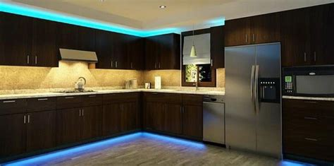 Led Tape Lights Kitchen Roselawnlutheran Led Lighting Kitchen Cabinet