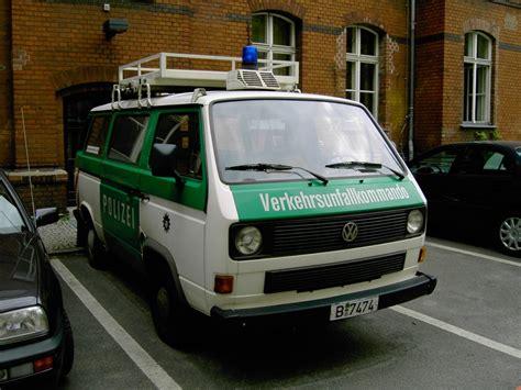 Bewerbungsfrist Landespolizei Berlin Vw T3 Transporter Unfallkommando Der Berliner Polizei