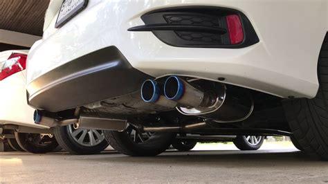Muffler Ujung Knalpot Civic Turbo civic fc turbo rs hks muffler exhaust system