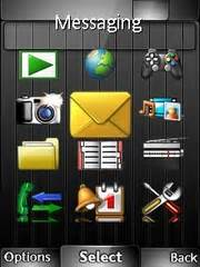 sony j20i themes free download royal black theme for sony ericsson mobile phones