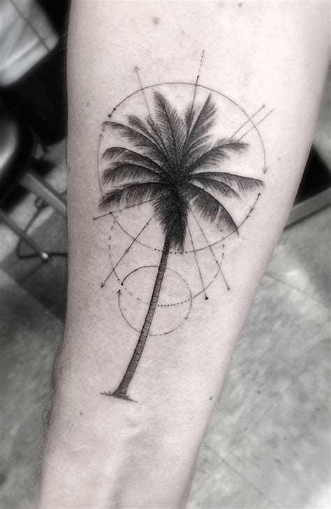 geometric tattoo palm tattoo fubiz media