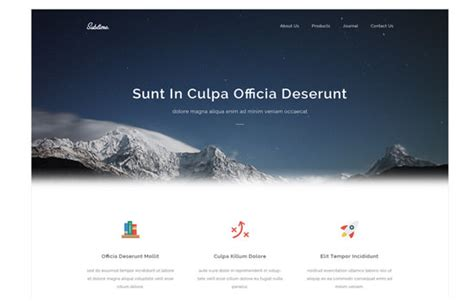 20 free html psd and gui templates august 2014 edition