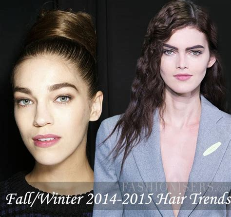 Hairstyles Fall Winter 2014 by Fall Winter 2014 2015 Hairstyle Trends Fashionisers