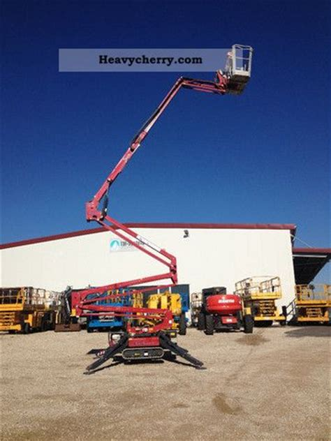 Light Lift by Hinowa Light Lift 19 65 Tracked Platform Bj 2007 2007 Working Platform Construction Equipment
