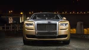 Rolls Royce San Antonio Rolls Royce Wrapped A Ghost In Gold For Antonio Brown S