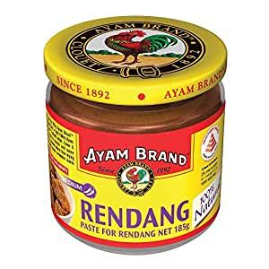 amazoncom ayam malaysian beef rendang paste  ounce