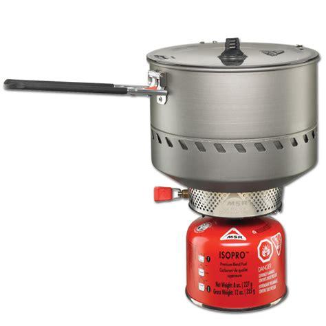 msr reactor windproof kompor 2 5l msr reactor 2 5l cing stove system outdoorplay