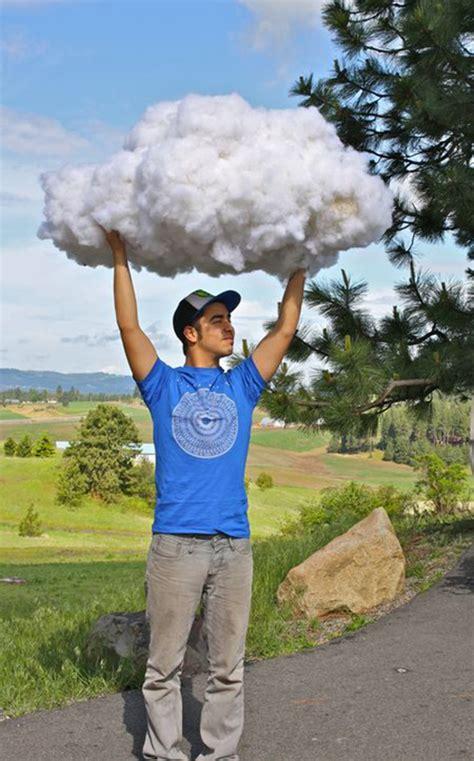 How To Make A Paper Cloud - nuvens de algod 227 o como fazer