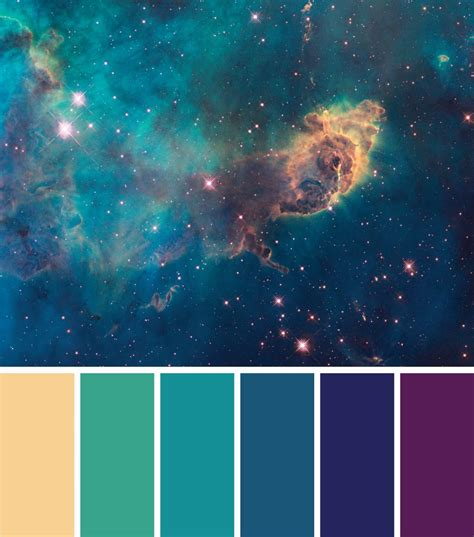 galaxy colors galaxy color palette 2016 student awards gala