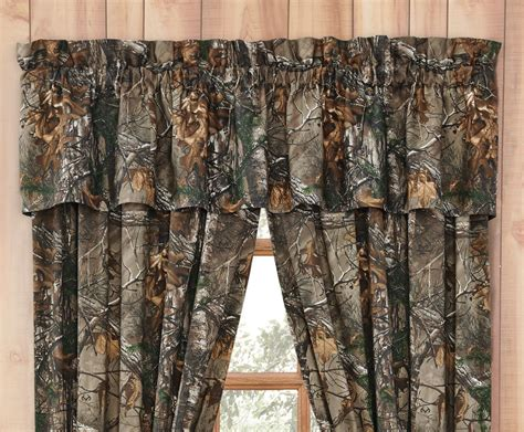 camo drapes realtree camo curtains xtra realtree camo valance camo