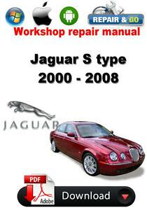 auto manual repair 2000 jaguar s type lane departure warning jaguar s type 2000 2008 workshop repair manual ebay