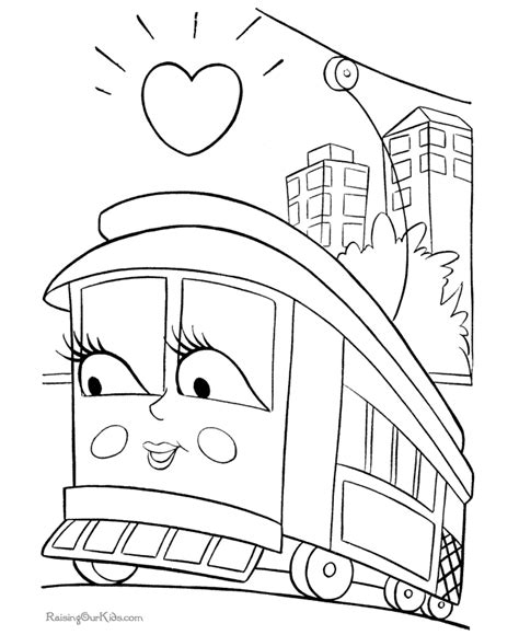 coloring page for train coloring pages of trains coloring home