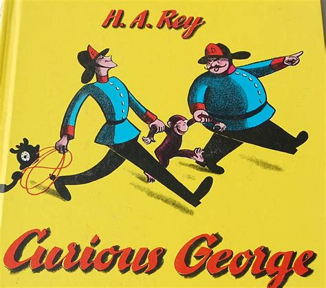 Curious George L by 1969 Curious George By H A Sold On Ruby