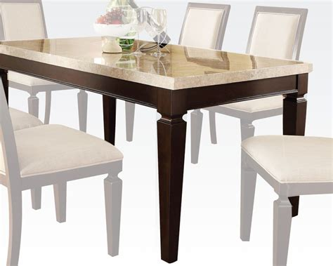 Acme Traditional Dining Table Agatha Ac70480 Dining Table Traditional