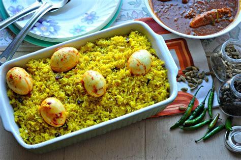 food swings dimer pulao bengali egg pilaf my friday food swings