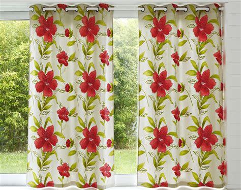 Rideaux Motif Fleurs by Rideau Motif Grandes Fleurs Becquet